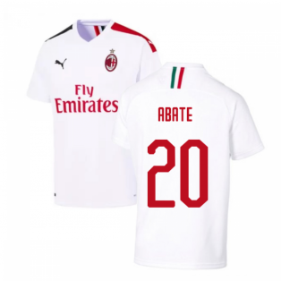 2019-2020 AC Milan Away Shirt (ABATE 20)