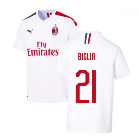 2019-2020 AC Milan Away Shirt (BIGLIA 21)