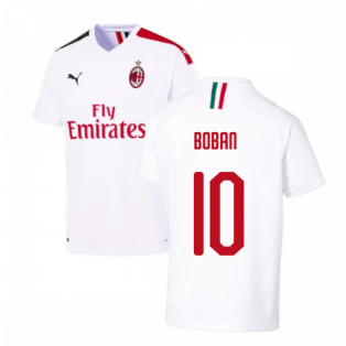 2019-2020 AC Milan Away Shirt (BOBAN 10)