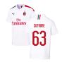 2019-2020 AC Milan Away Shirt (CUTRONE 63)