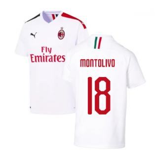 2019-2020 AC Milan Away Shirt (MONTOLIVO 18)