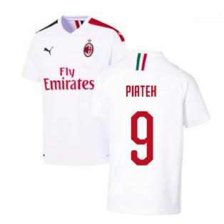 2019-2020 AC Milan Away Shirt (PIATEK 9)