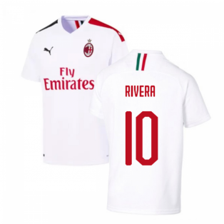 2019-2020 AC Milan Away Shirt (RIVERA 10)