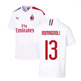 2019-2020 AC Milan Away Shirt (ROMAGNOLI 13)
