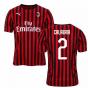 2019-2020 AC Milan Puma Home Football Shirt (CALABRIA 2)