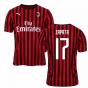 2019-2020 AC Milan Puma Home Football Shirt (ZAPATA 17)