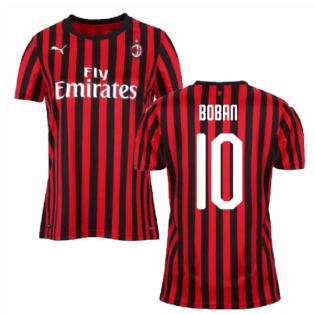 2019-2020 AC Milan Puma Home Womens Shirt (BOBAN 10)