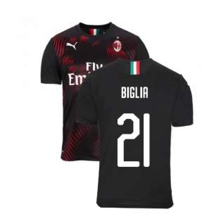 2019-2020 AC Milan Puma Third Football Shirt (BIGLIA 21)