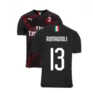 2019-2020 AC Milan Puma Third Football Shirt (ROMAGNOLI 13)