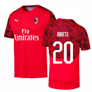 2019-2020 AC Milan Puma Training Shirt (Red) (ABATE 20)