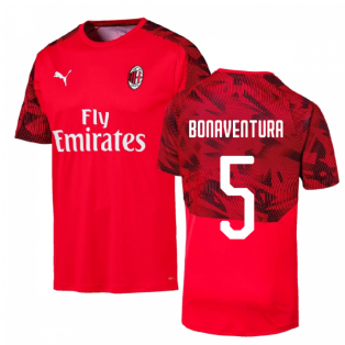 2019-2020 AC Milan Puma Training Shirt (Red) (BONAVENTURA 5)