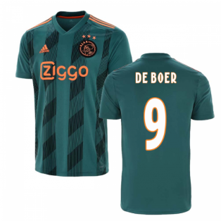 2019-2020 Ajax Adidas Away Shirt (Kids) (DE BOER 9)