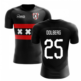 2020-2021 Ajax Away Concept Football Shirt (DOLBERG 25)