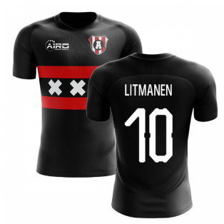 2019-2020 Ajax Away Concept Football Shirt (LITMANEN 10)