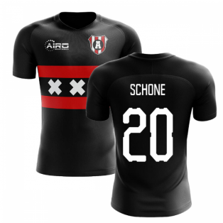 2019-2020 Ajax Away Concept Football Shirt (SCHONE 20)