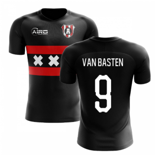 2020-2021 Ajax Away Concept Football Shirt (VAN BASTEN 9)