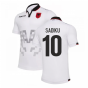 2019-2020 Albania Away Macron Football Shirt (Sadiku 10)