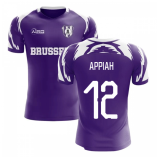 2020-2021 Anderlecht Home Concept Football Shirt (Appiah 12)
