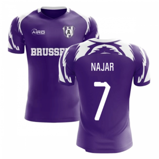 2019-2020 Anderlecht Home Concept Football Shirt (Najar 7)
