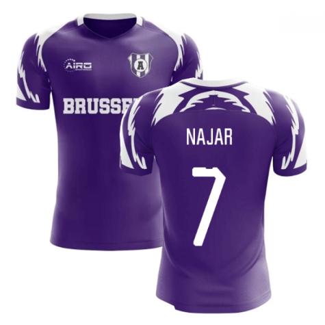 2020-2021 Anderlecht Home Concept Football Shirt (Najar 7)