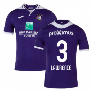 2019-2020 Anderlecht Joma Home Football Shirt (Lawrence 3)