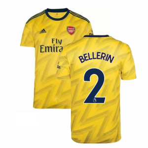 2019-2020 Arsenal Adidas Away Football Shirt (BELLERIN 2)