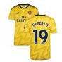 2019-2020 Arsenal Adidas Away Football Shirt (GILBERTO 19)