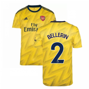 2019-2020 Arsenal Adidas Away Football Shirt (Kids) (BELLERIN 2)