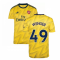 2019-2020 Arsenal Adidas Away Football Shirt (Kids) (WENGER 49)