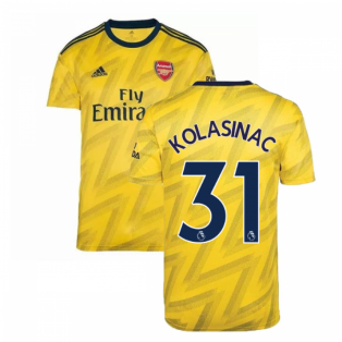 2019-2020 Arsenal Adidas Away Football Shirt (KOLASINAC 31)