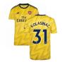 2019-2020 Arsenal Adidas Away Football Shirt (KOLASINAC 31)