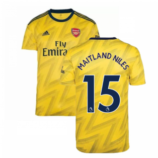 2019-2020 Arsenal Adidas Away Football Shirt (MAITLAND NILES 15)