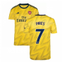 2019-2020 Arsenal Adidas Away Football Shirt (PIRES 7)