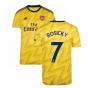 2019-2020 Arsenal Adidas Away Football Shirt (ROSICKY 7)