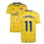 2019-2020 Arsenal Adidas Away Football Shirt (TORREIRA 11)