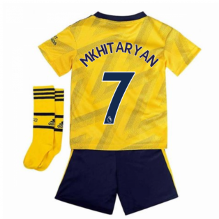 2019-2020 Arsenal Adidas Away Little Boys Mini Kit (Mkhitaryan 7)