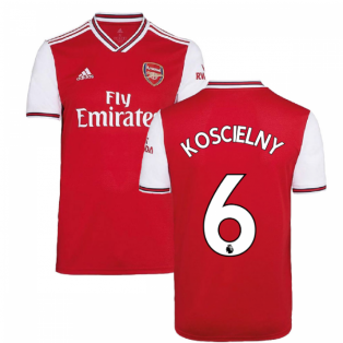 2019-2020 Arsenal Adidas Home Football Shirt (Kids) (KOSCIELNY 6)