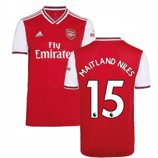 2019-2020 Arsenal Adidas Home Football Shirt (Kids) (MAITLAND NILES 15)