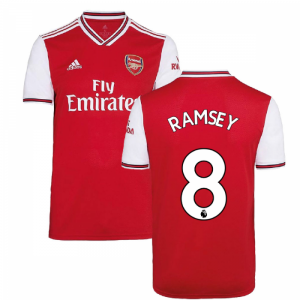 2019-2020 Arsenal Adidas Home Football Shirt (Kids) (RAMSEY 8)