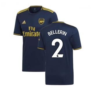 2019-2020 Arsenal Adidas Third Football Shirt (BELLERIN 2)