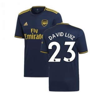 2019-2020 Arsenal Adidas Third Football Shirt (David Luiz 23)