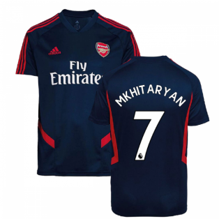 2019-2020 Arsenal Adidas Training Shirt (Navy) (Mkhitaryan 7)