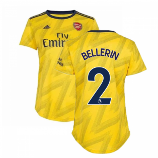 2019-2020 Arsenal Adidas Womens Away Shirt (Bellerin 2)