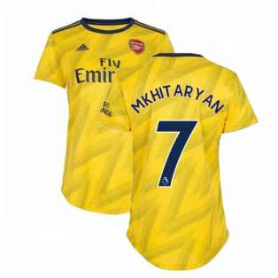 2019-2020 Arsenal Adidas Womens Away Shirt (Mkhitaryan 7)