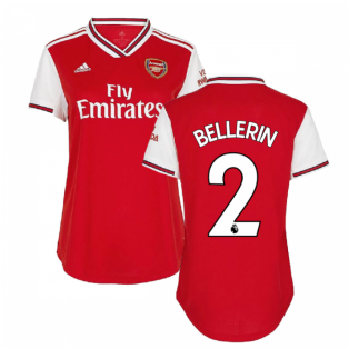 2019-2020 Arsenal Adidas Womens Home Shirt (BELLERIN 2)