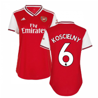 2019-2020 Arsenal Adidas Womens Home Shirt (KOSCIELNY 6)
