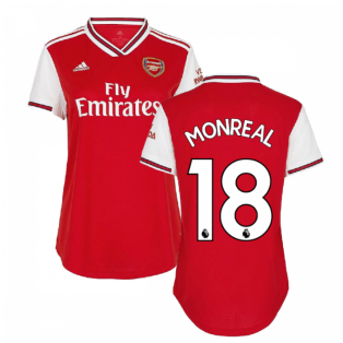 2019-2020 Arsenal Adidas Womens Home Shirt (MONREAL 18)