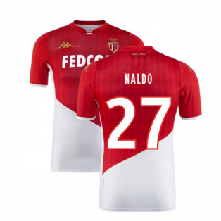 2019-2020 AS Monaco Home Shirt (Kids) (NALDO 27)