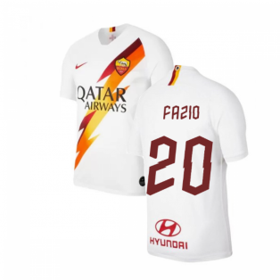 2019-2020 AS Roma Away Nike Football Shirt (Kids) (FAZIO 20)