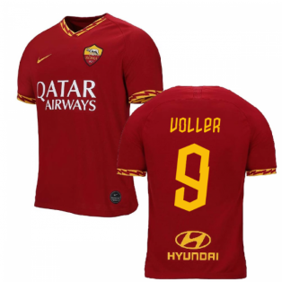 2019-2020 AS Roma Home Nike Football Shirt (VOLLER 9)